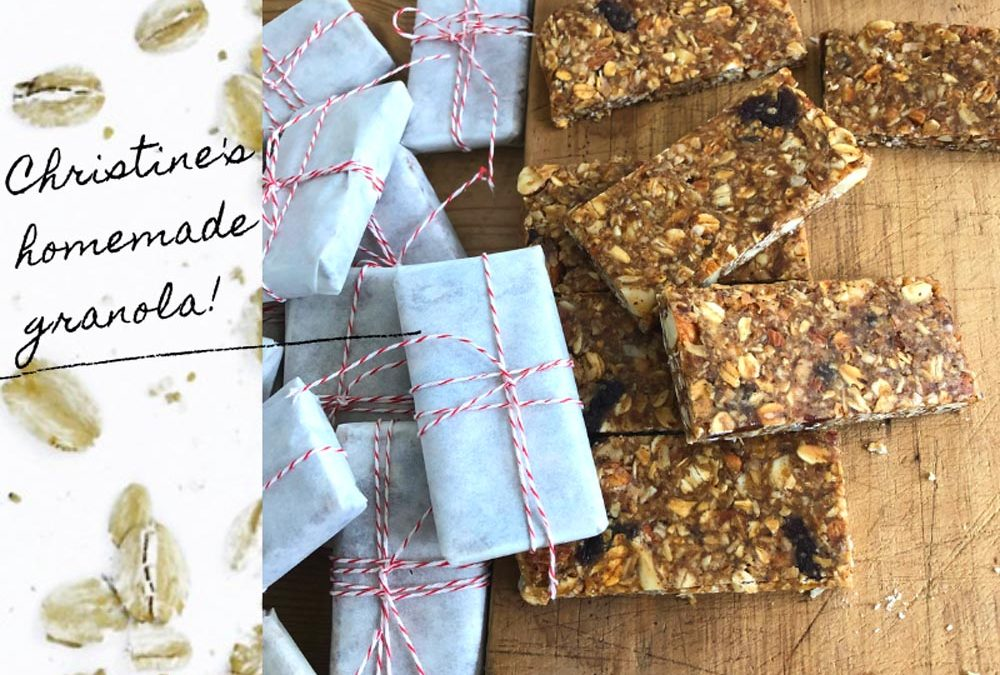Cannabis Infused Granola Bar Recipe