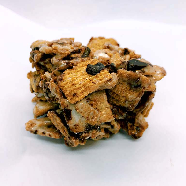 Cannabis Infused S'mores Cereal Bar